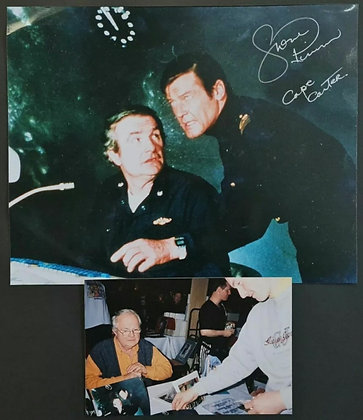 Shane Rimmer Signed Photo - The Spy Who Loved Me