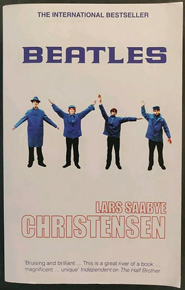 Hunter Davies Signed 'Beatles' PB Book - Lars Saaybe Christensen