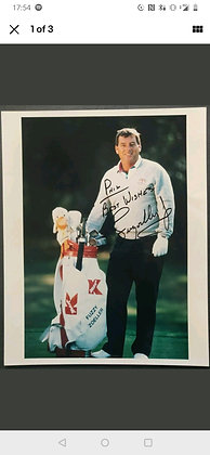 Fuzzy Zoeller Signed Photo - US Open Champion (1984), Masters (1979)
