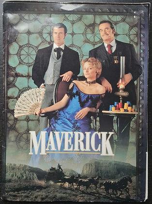 Maverick (1994) Film Press Pack - Mel Gibson, Jodie Foster