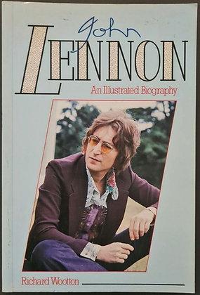 Hunter Davies Signed 'John Lennon: An Illustrated Biography' by Richard Wooton
