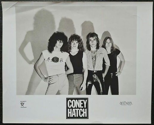 Coney Hatch Promo Photo - Anthem Records - 1980s
