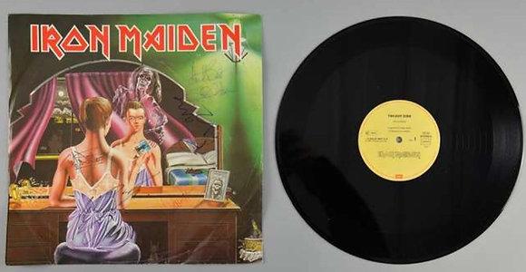 Iron Maiden Signed Vinyl