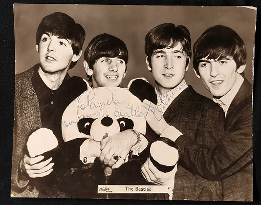 The Beatles Signed Photograph - Blackpool ABC 1964