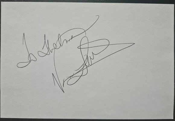Vanessa Williams Autograph - Singer/Actress - 'Save The Best For Last'