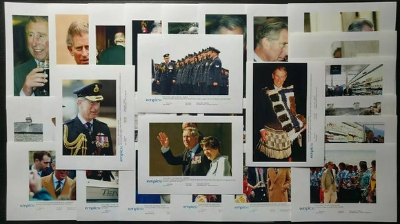 Prince Charles Press Photos (x30) from March-April 2005 - British Royal Family