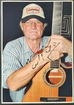 Michael Chapman Signed Photo (Signed at Ivor Novello Awards 2017) with COA
