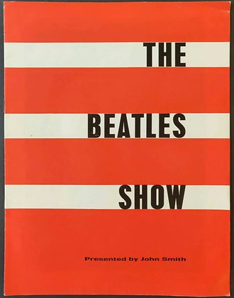 The Beatles Romford/Guildford Programme 1963