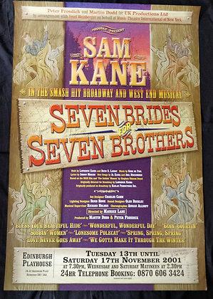 Seven Brides For Seven Brothers - Edinburgh Playhouse 2001