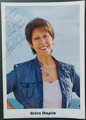 Helen Shapiro Signed Promo Photo
