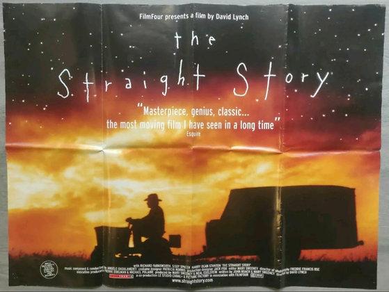 The Straight Story (1999) UK Quad Poster - David Lynch, Richard Farnsworth