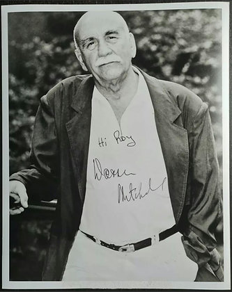 Warren Mitchell Signed Photo - Till Death Do Us Part, Alf Garnett - CDA Agency