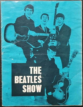 The Beatles Show Programme from Gaumont Theatre, Bournemouth, 1963