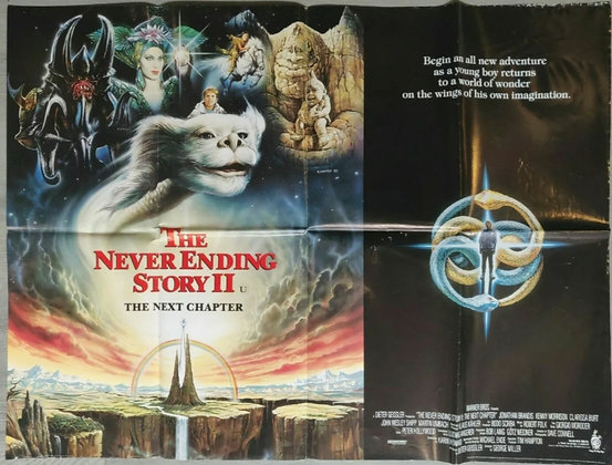 The NeverEnding Story II: The Next Chapter (1990) UK Quad Poster