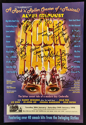 Rock Hard Signed Poster