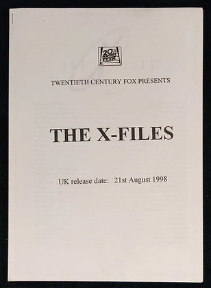 The X-Files Press Pack
