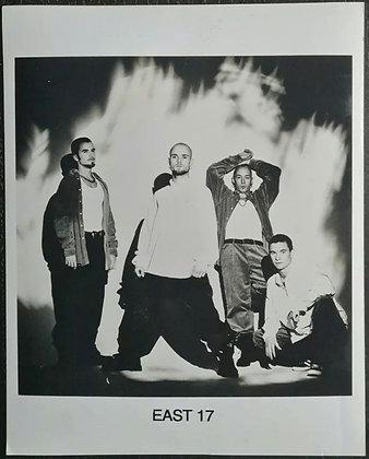 East 17 Promo Photo - UK Pop Group, Brian Harvey, Tony Mortimer - Music Choice
