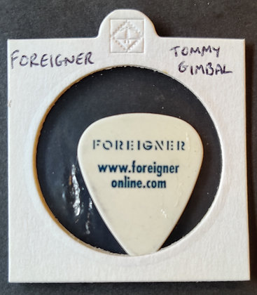 Foreigner - Tommy Gimbal