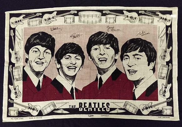 Beatles Teatowel