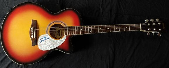 Glen Campbell Signed Guitar
