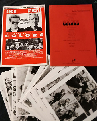 Colours Press Pack