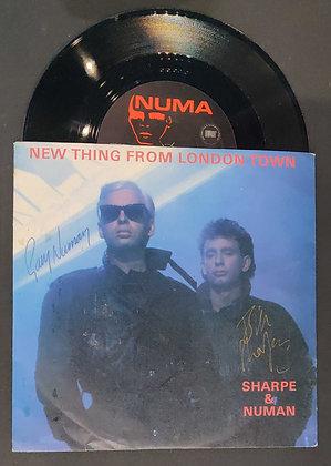 Gary Numan & Bill Sharpe Signed Record