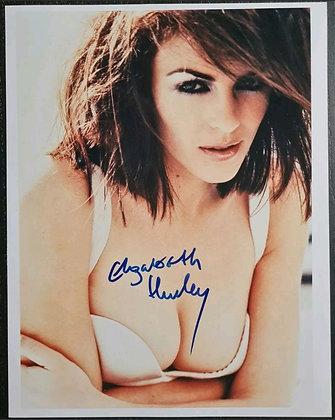 Elizabeth Hurley Signed Photo - Austin Powers, Bedazzled