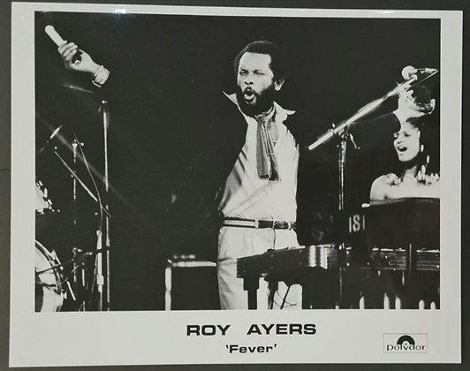 Roy Ayers Promo Photo - Polydor Records - 1979