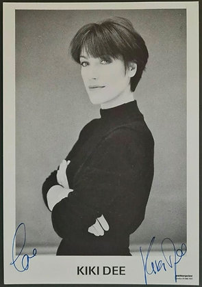 Kiki Dee Signed Photo - Walker Print