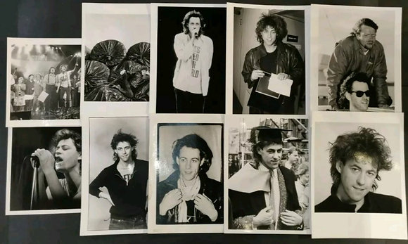 Bob Geldof Press Photo Selection (X10) - 3