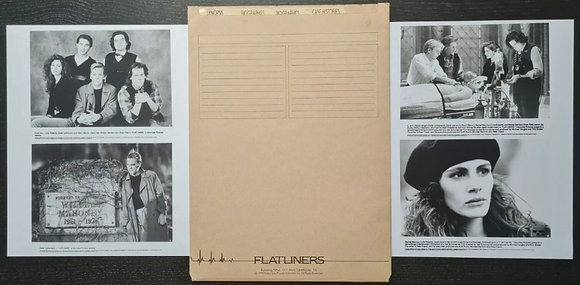 Flatliners (1990) Film Press Pack - Kiefer Sutherland, Julia Roberts