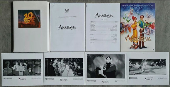 Anastasia (1997) Film Press Pack - 20th Century Fox