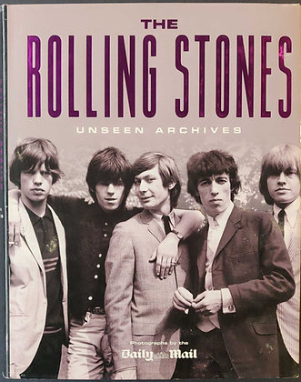 The Rolling Stones Unseen Archives Book