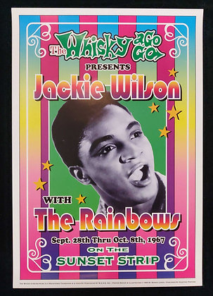 Jackie Wilson with the Rainbows Poster from 1999
