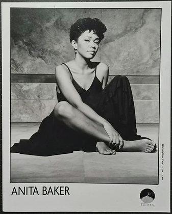Anita Baker Promo Photo - Elektra Records - 1986
