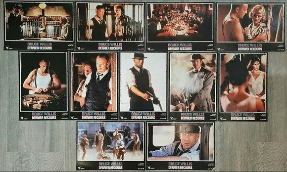 Last Man Standing (1996) French Cinema Lobby Cards (X11) - Bruce Willis
