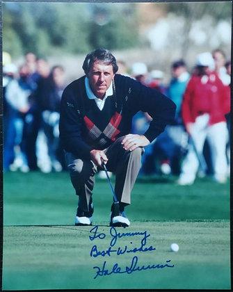 Hale Irwin Signed Photo - US Open Champion (1974/1979/1990)