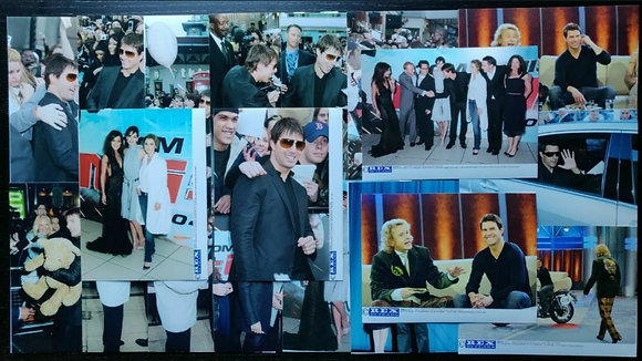 Mission: Impossible III (2006) Film Premiere/TV Press Photos (x19) - Tom Cruise