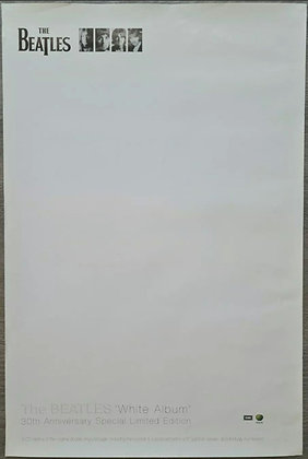 The Beatles 'White Album' 30th Anniversary Promo Poster from 1998