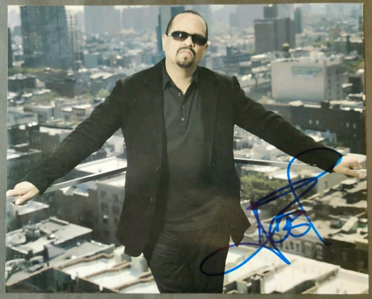 Ice T Signed Photo With COA  - Body Count / Law & Order (NBC)