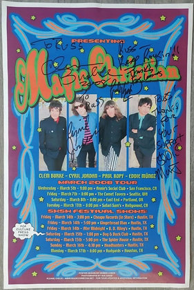 Magic Christian Signed Tour Poster Print from 2008 - Clem Burke (Blondie)