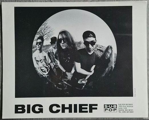 Big Chief Promo Photo - Sub Pop Records - 1990s