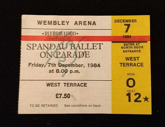 Spandau Ballet 1984 London