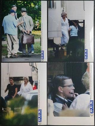 The Good Shepard (2006) Film Set Press Photos (x4) - Matt Damon, Robert De Niro