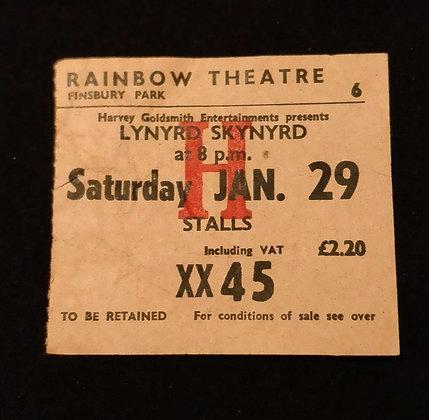 Lynyrd Skynyrd 1977 London