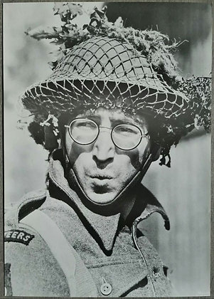 John Lennon Contemporary Poster Print - 'How I Won The War' (1967)