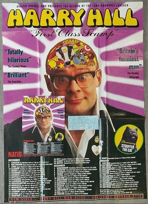 Harry Hill Promo Poster, Flyer & Ticket from Edinburgh Usher Hall, 1997