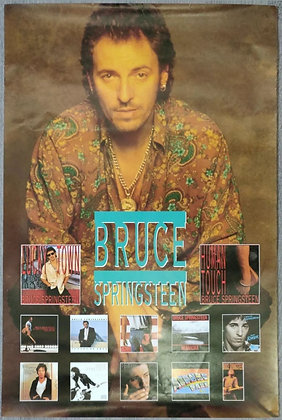 Bruce Springsteen Album Discography Promo Poster from 1992