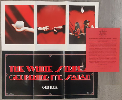 The White Stripes Press Items for Elephant & Get Behind Me Satan