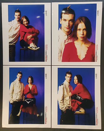 Lamb Press Promo Photo Set (x4) - London Features